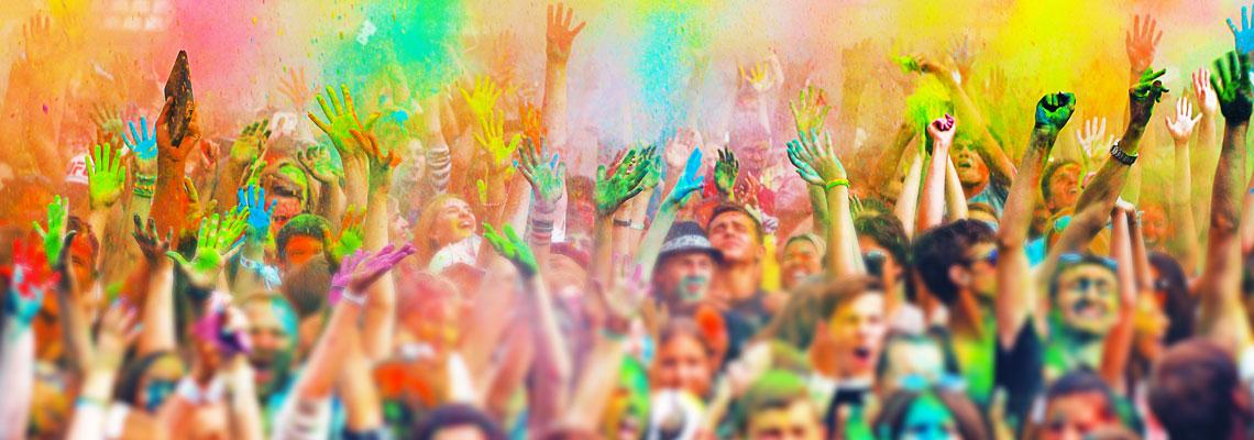 Comment bien organiser une fête des couleurs